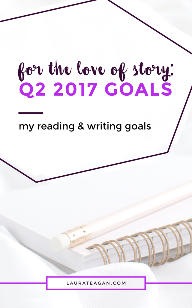 For the Love of Word: Q2 2017 Goals
