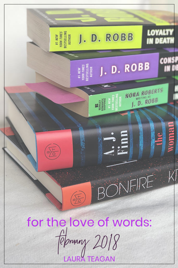 For the Love of Words: February