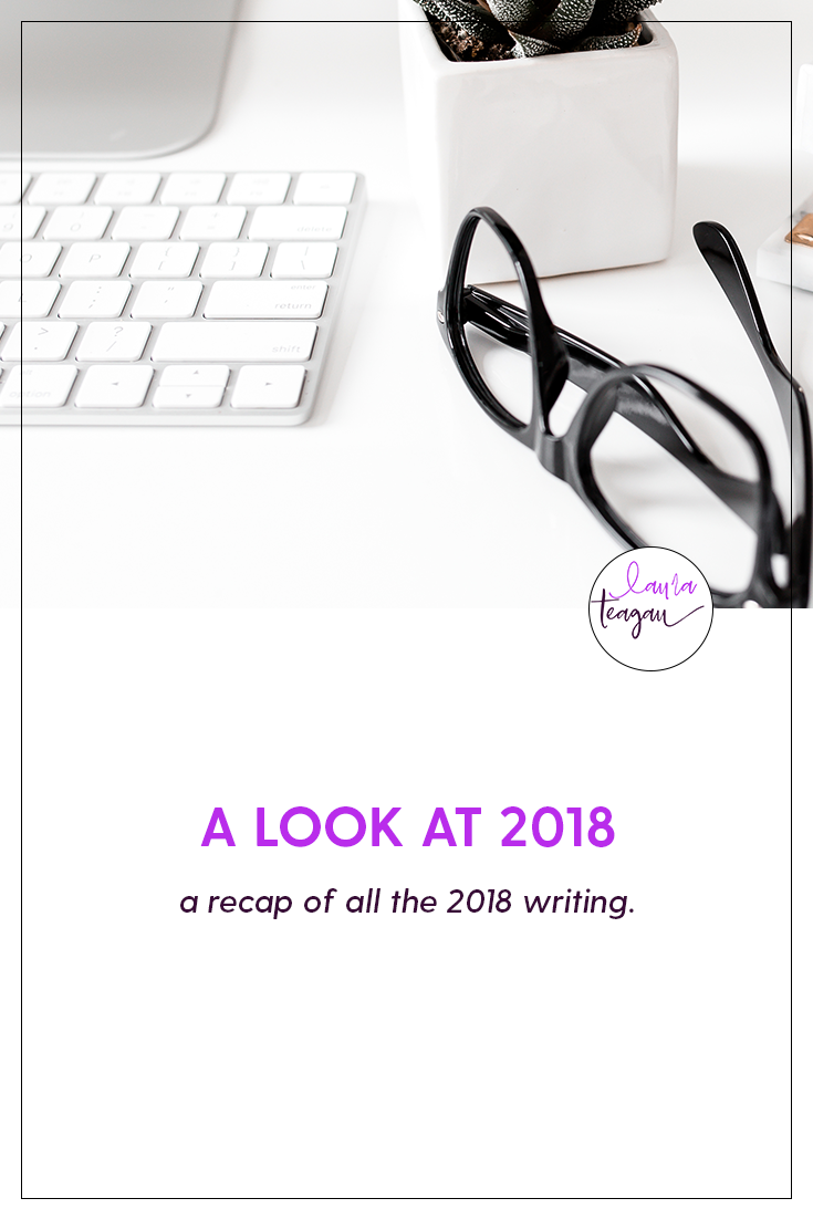 A look at 2018: the Writing Recap