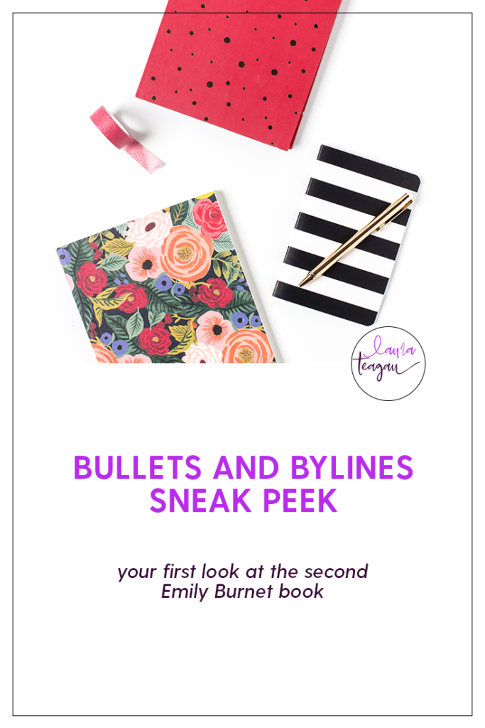 Sneak Peek for Bullets and Bylines