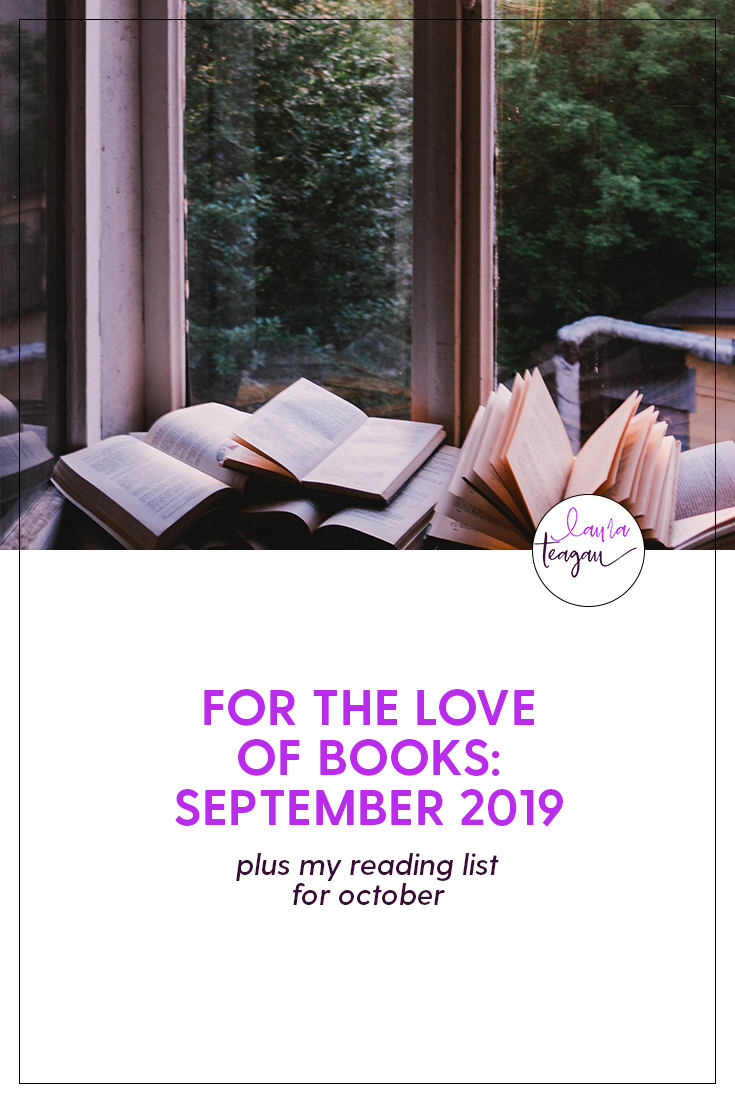 For the Love of Books: September 2019