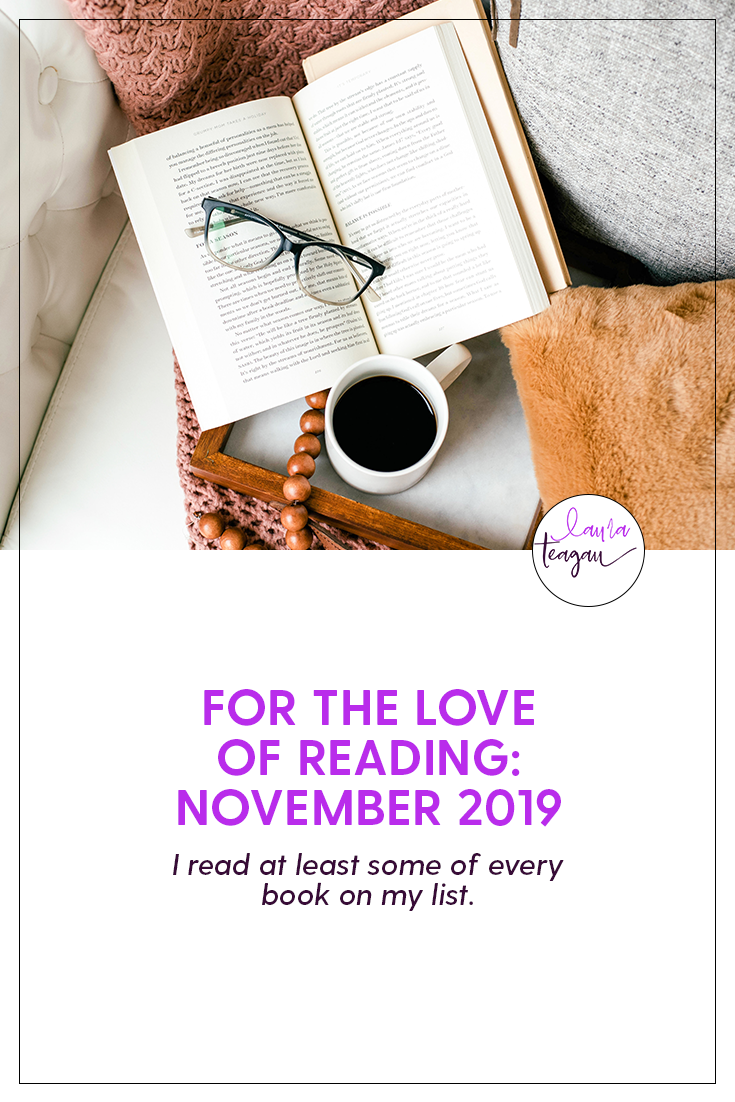 For the Love of Reading: November