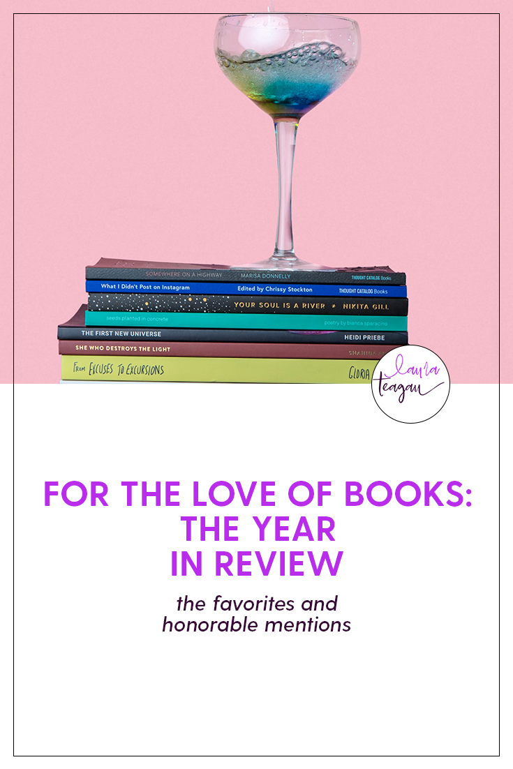 For the Love of Books: Year in Review Recap
