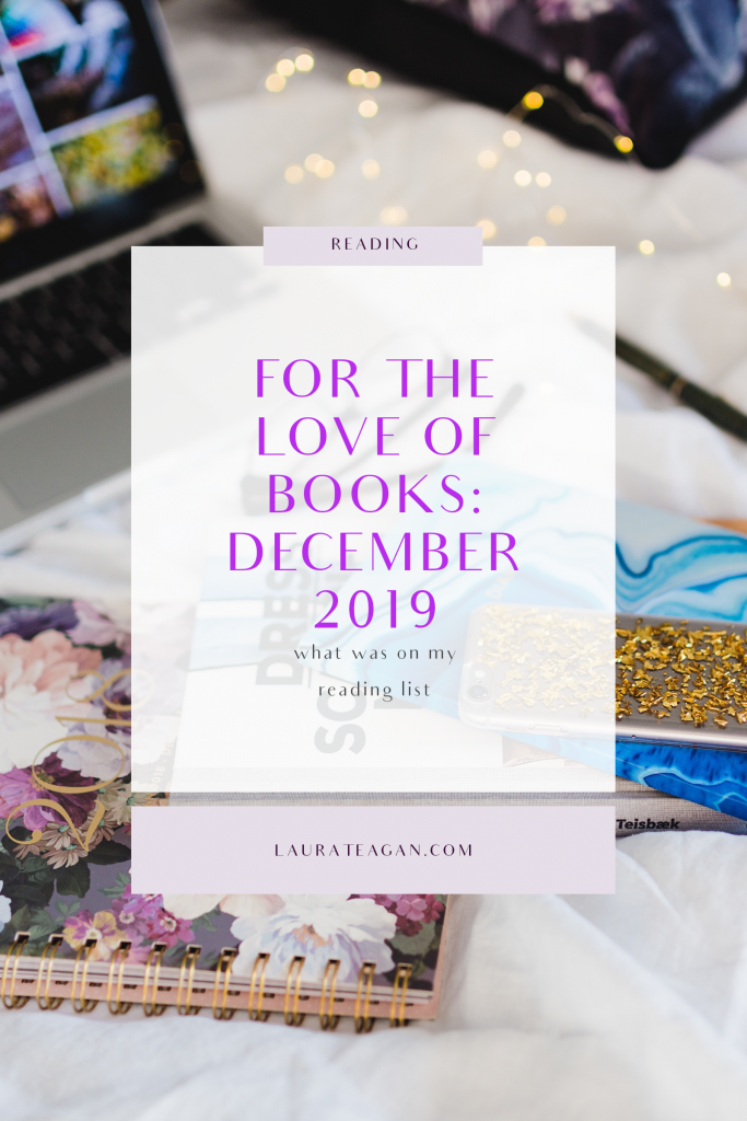 For the Love of Books: December 2019
