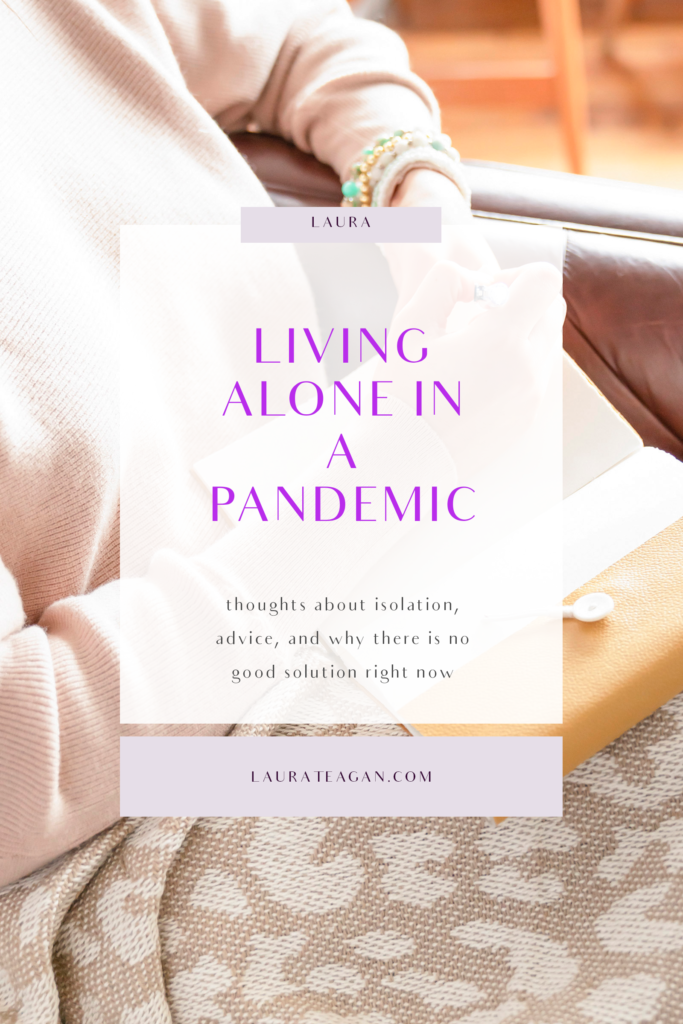 Living Alone in a Pandemic