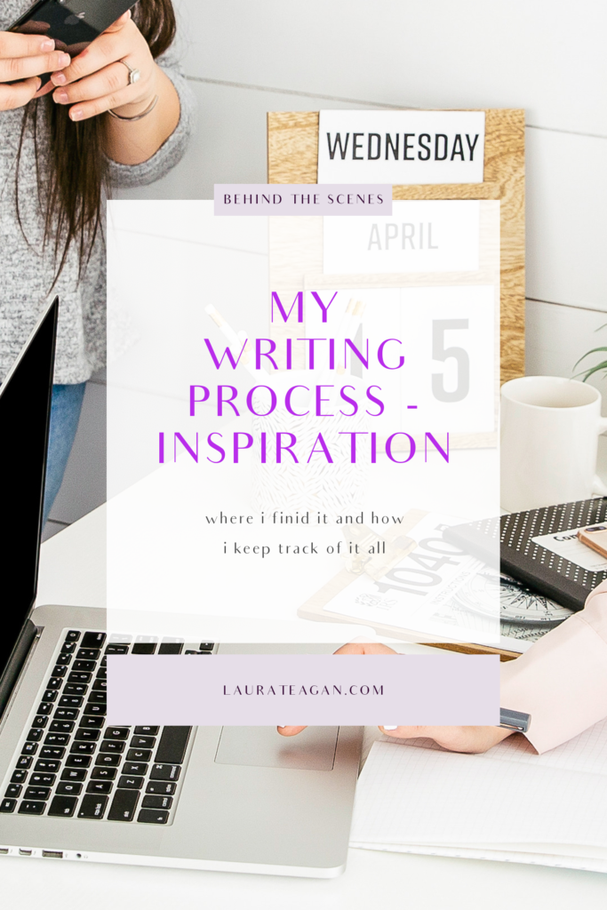 My Writing Process - Inspiration