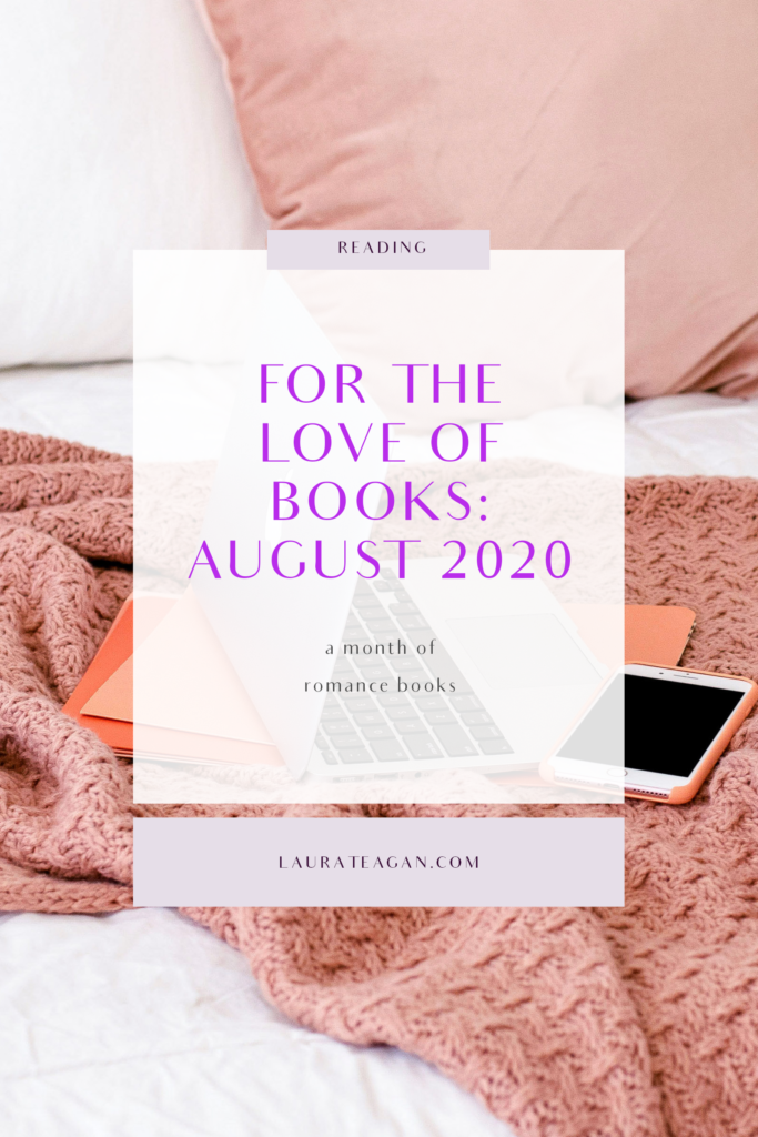 For the Love of Books: August 2020