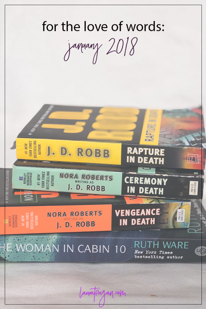 For the Love of Words: January 2018