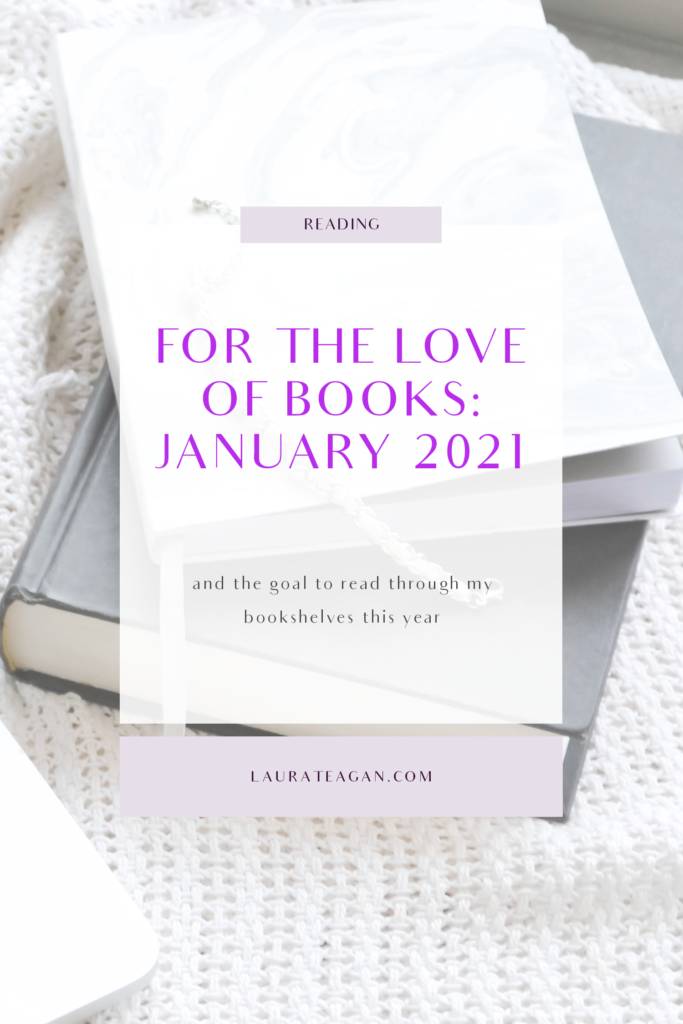 For the Love of Books: January 2021